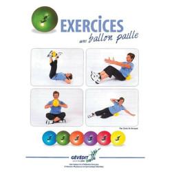 LIVRE D'EXERCICES AVEC BALLON PAILLE