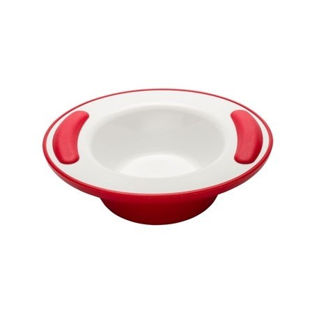 ASSIETTE CREUSE ISOTHERME VITAL ROUGE