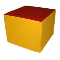 LOT DE 2 CUBES MOUSSES SOFT 50 X 50 X 40 CM