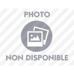 CANNE DESIGN FIXE REGLABLE RONCE DE NOYER EN ALUMINIUM