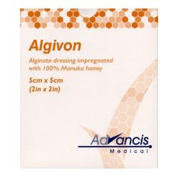 ALGIVON PANSEMENT ALGINATE IMPREGNEE - LOT DE 5