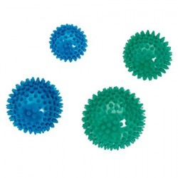 LOT DE 2 BALLES DE MASSAGE 10 CM