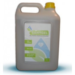 1 L - Gel mains hydroalcoolique - Sanygel