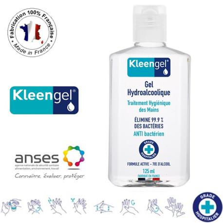 Gel Hydroalcoolique et Antibactérien 125ml - Kleengel®