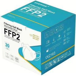 Masques FFP2 - Norme EN149:2001+A1:2009 - Boite de 30 masques