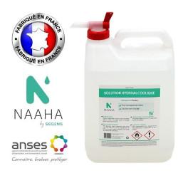 Solution hydro-alcoolique NAAHA 5L avec robinet