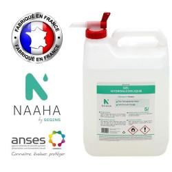 Gel hydro-alcoolique NAAHA 5L avec robinet