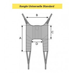 SANGLE UNIVERSELLE STANDARD