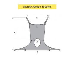 SANGLE HAMAC TOILETTE