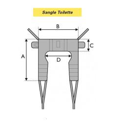 SANGLE TOILETTE