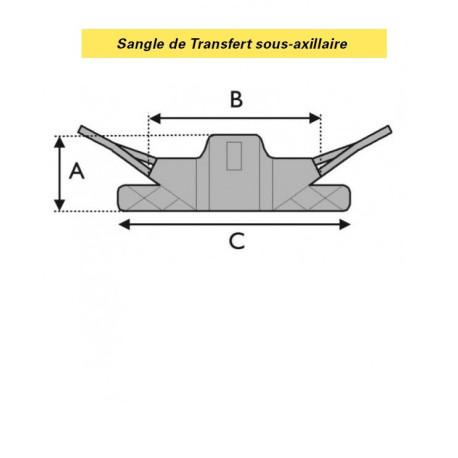 SANGLE DE TRANSFERT SOUS-AXILLAIRE