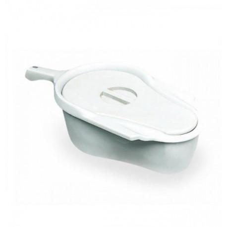 Pot de toilette avec son couvercle livré sans glissière pour OCEAN, OCEAN VIP, DUAL VIP, E-VIP